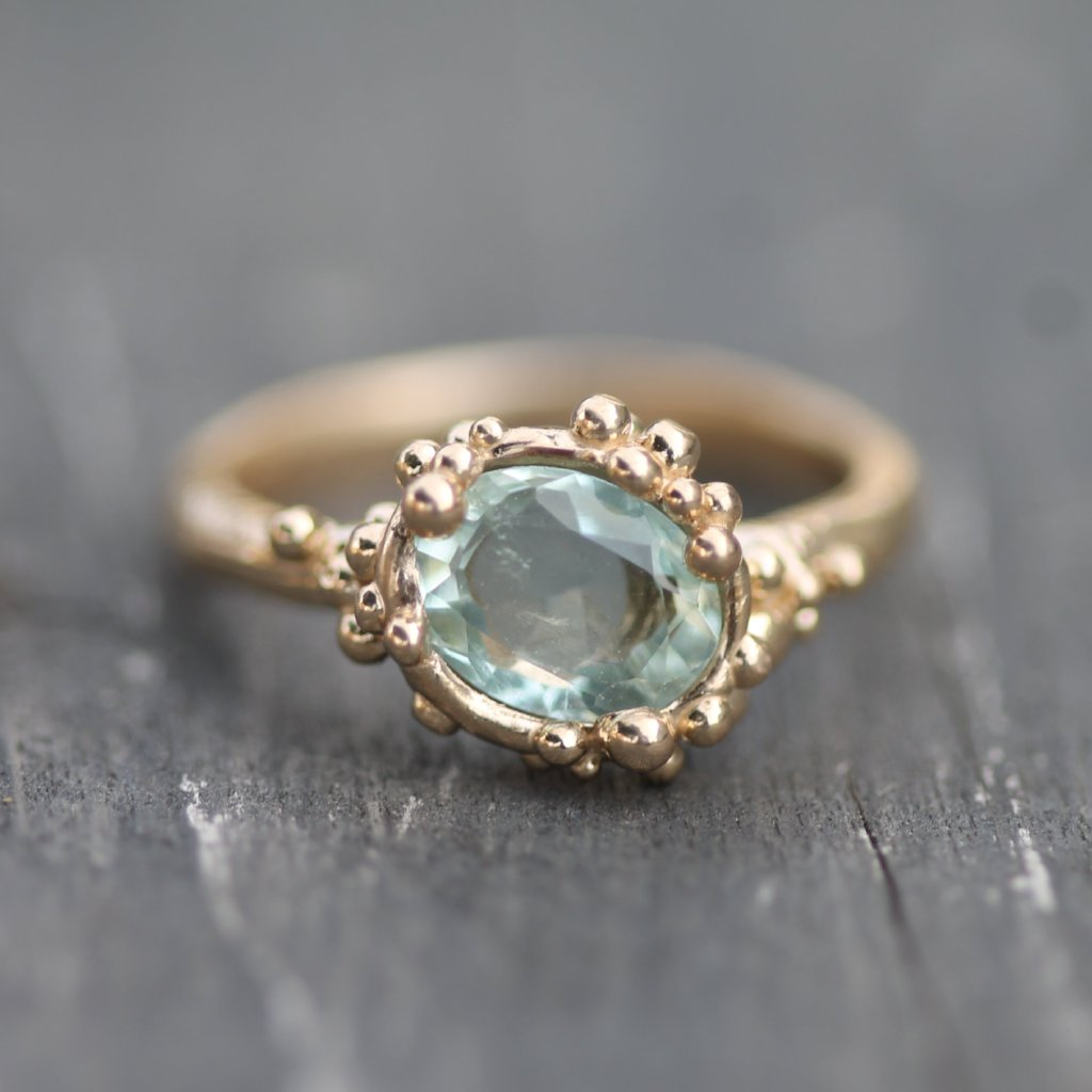 Mermaid Treasure with Aquamarine