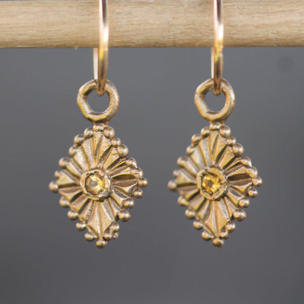 Yellow bronze celestial sleepers with citrine