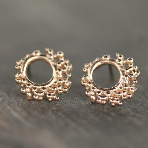 Russell Reef Studs-earrings-14k Yellow Gold-Emma Glover Designs