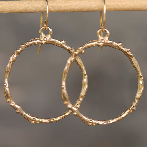 Large Mermaid Hoops