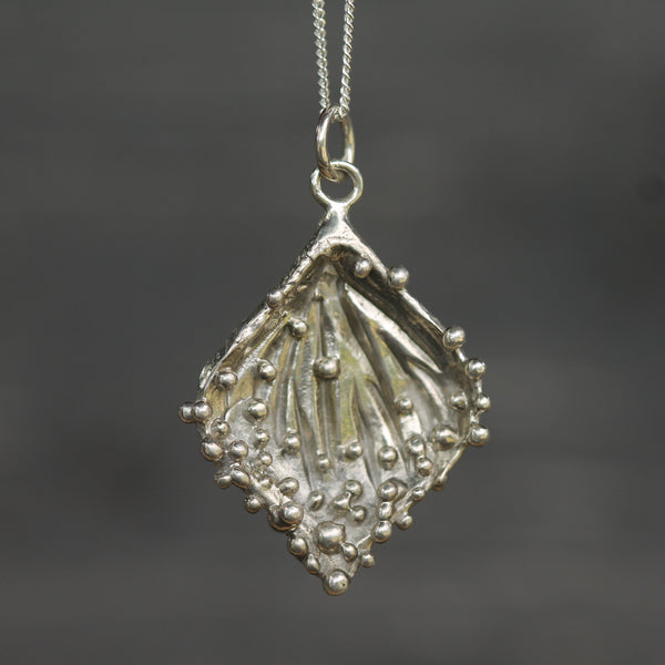 Dew Drop Leaf Pendant