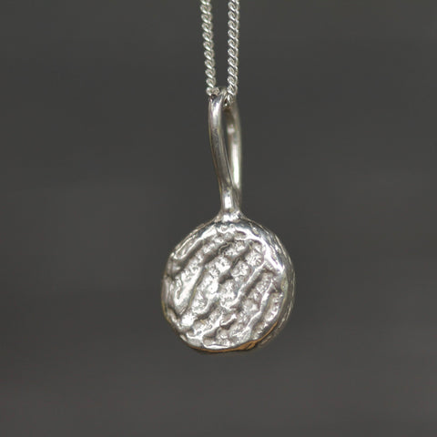 Mini Moonscape Pendant-Necklace-Sterling Silver-Emma Glover Designs