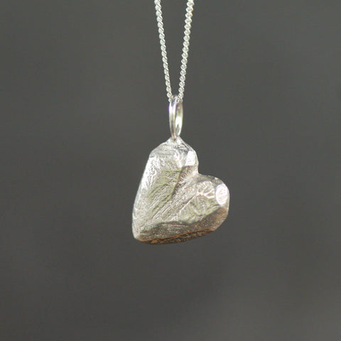 Little Heart Pebble-Necklace-Sterling Silver-Emma Glover Designs