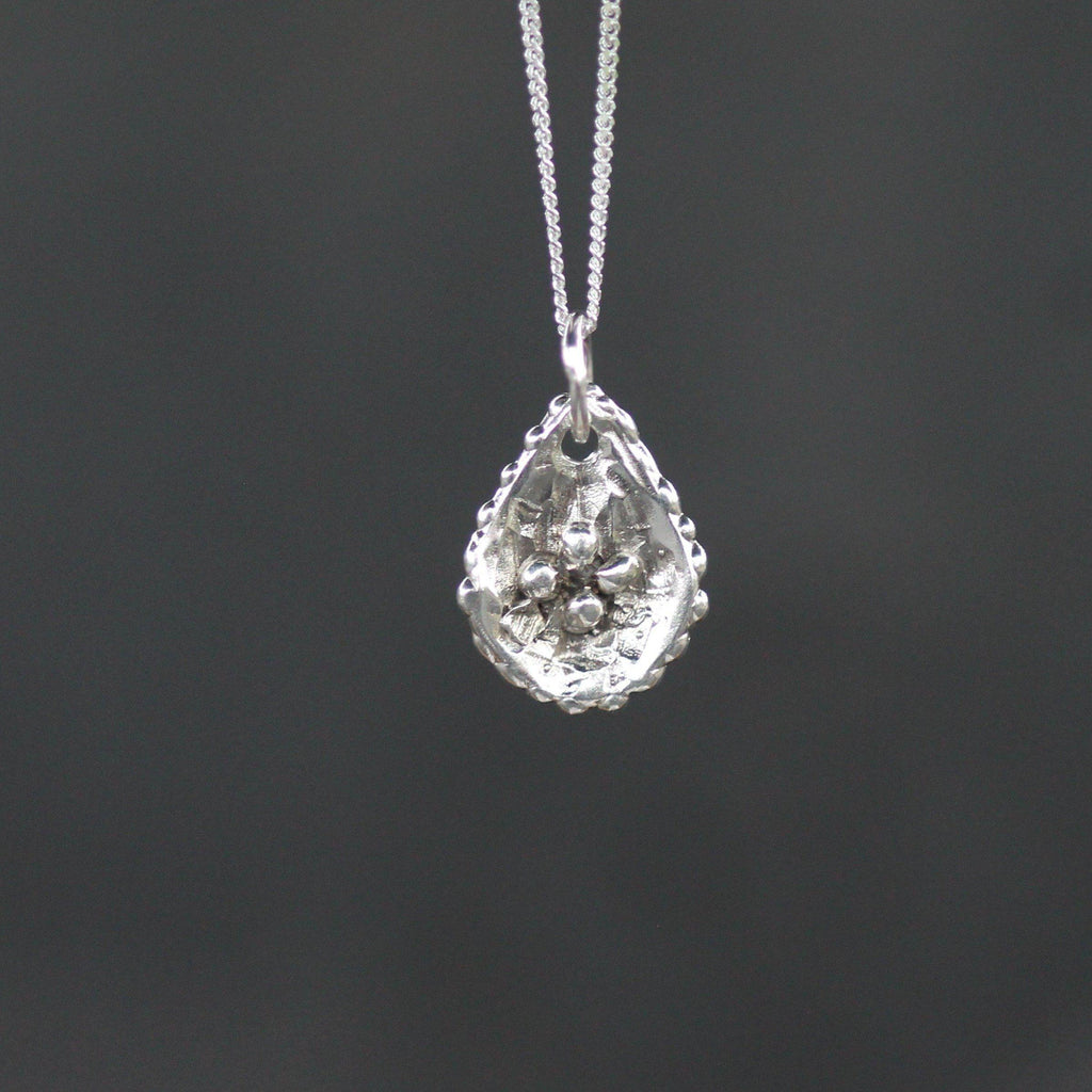 Raw Diamond Pendant