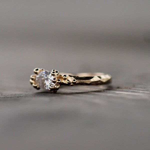 Mermaid Treasure with Moissanite-Ring-Emma Glover Designs