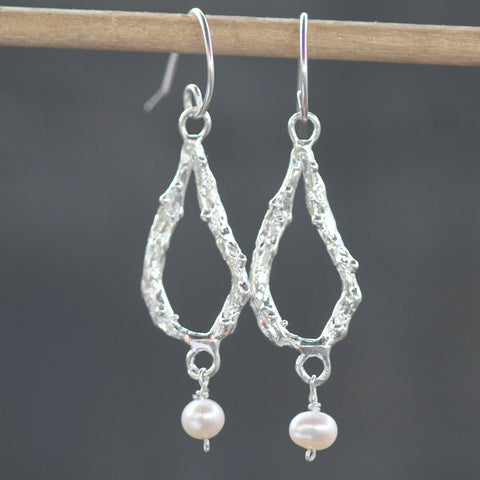 Ashera Pearl Earrings-Earrings-Emma Glover Designs