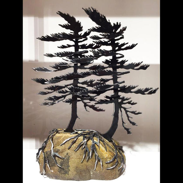 Windswept Pine Sculptures