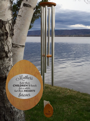 Corporate Gifts - Canadian Wind Chimes Engraved Plate