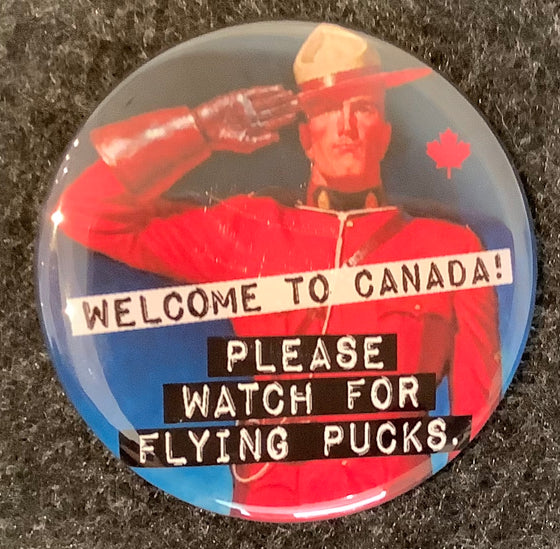 Flying Pucks Magnet