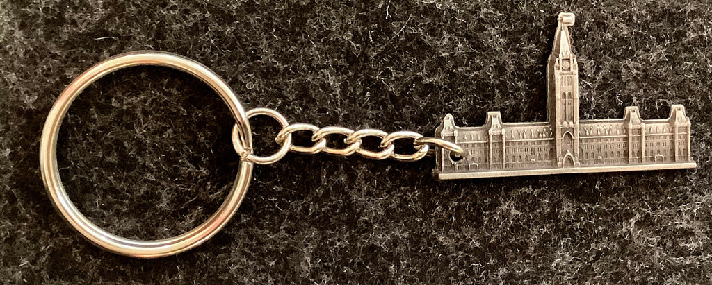 Parliament Hill Pewter Key Chain