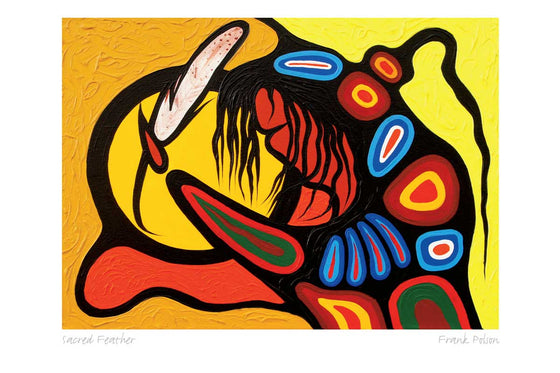 """Sacred Feather"" - Frank Polson"