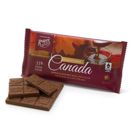A Taste From Canada: Maple Flavoured Milk Chocolate
