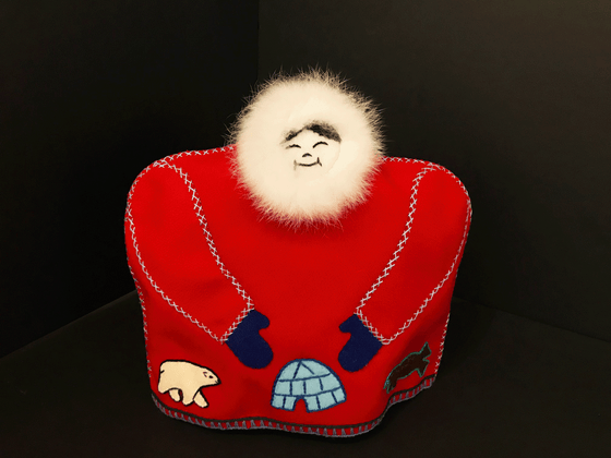 Inuit Tea Cozy - Red