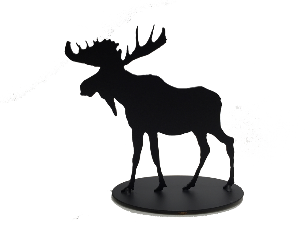 Moose - Metal Art - Made In Canada Gifts