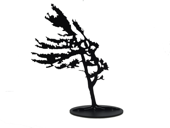Windswept Pine - Metal Art - Made In Canada Gifts