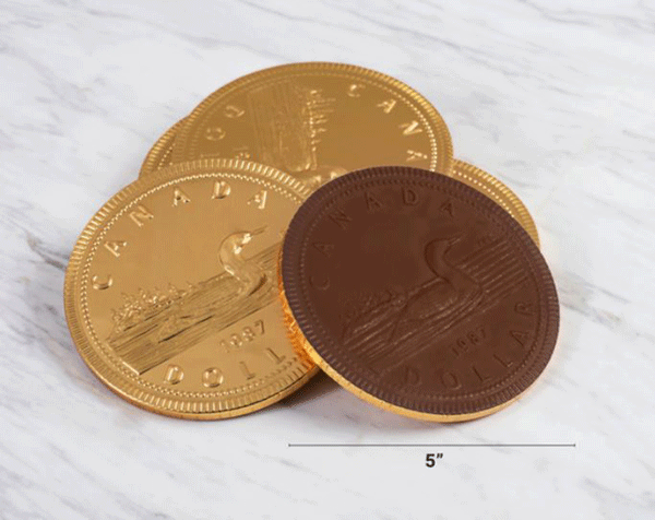 Milk Chocolate Loonie