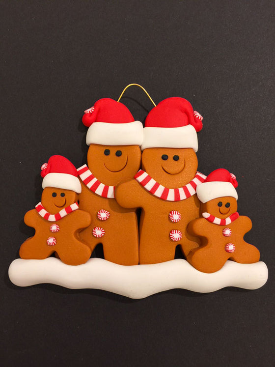Daria Done Ems - Ginger Bread Family of 4