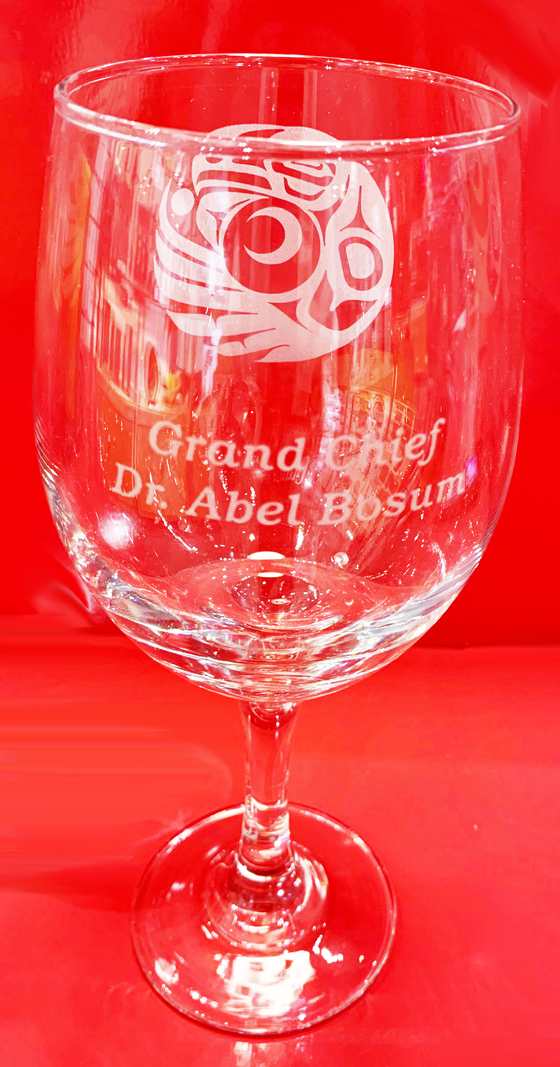 Laser Engraving for Wine Glass