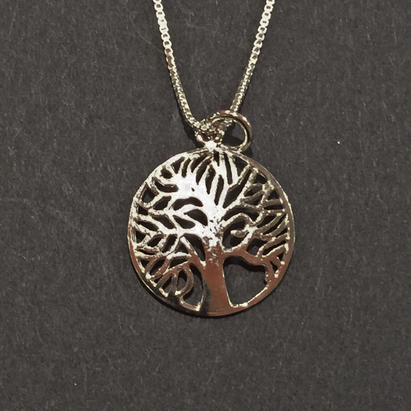 Pendant - Circular Tree of Life
