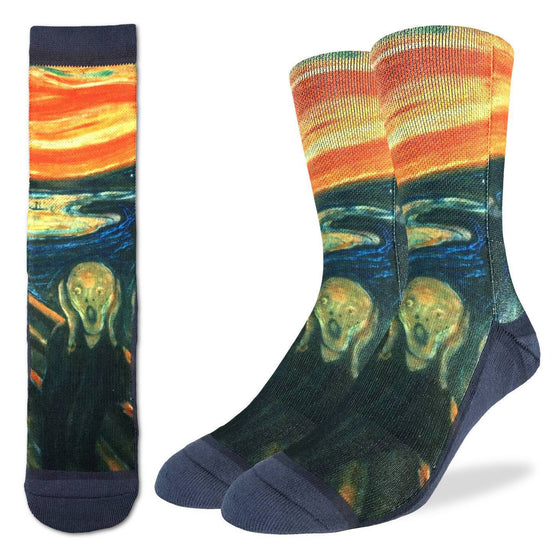 The Scream Active Fit Socks