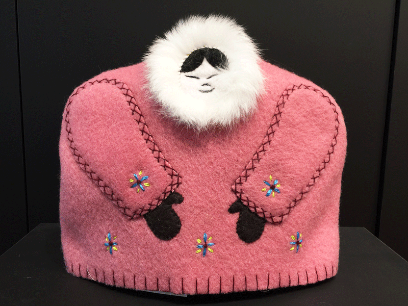 Inuit Tea Cozy - Pink