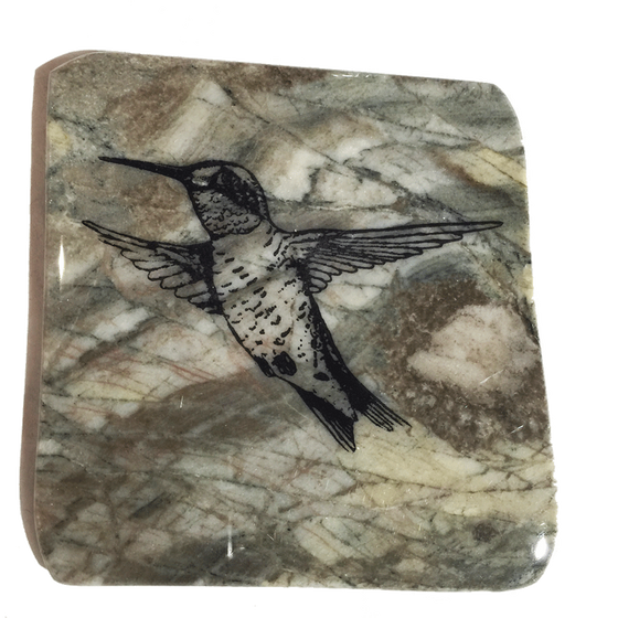 Madoc Rocks Hummingbird Coaster