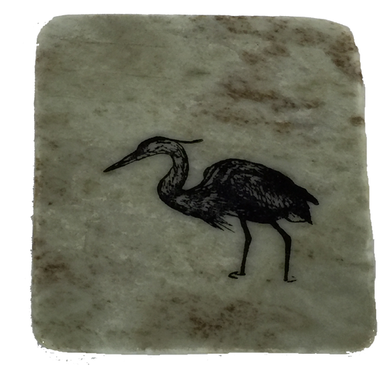 Heron - Coasters - Made In Canada Gifts