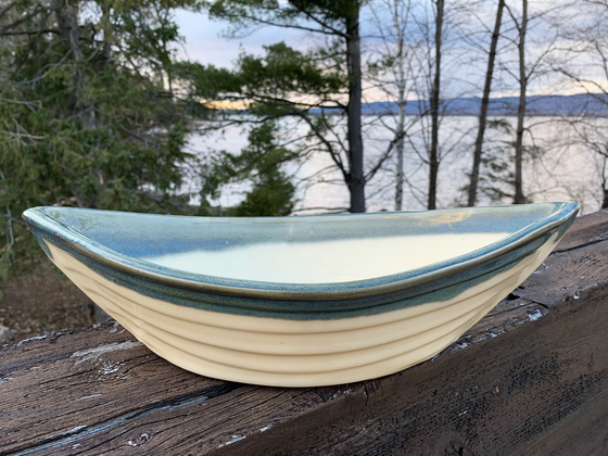 Dory Serving Bowl - Seaside