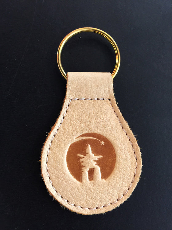 Teardrop Inuit Muskox Key Chain
