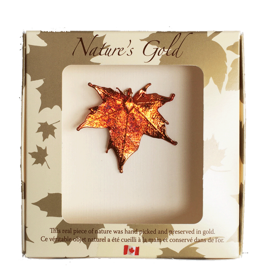 Maple Leaf Pendant - Iridescent - Jewellery - Made In Canada Gifts