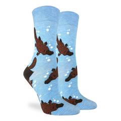 Women's Platypus Crew Socks
