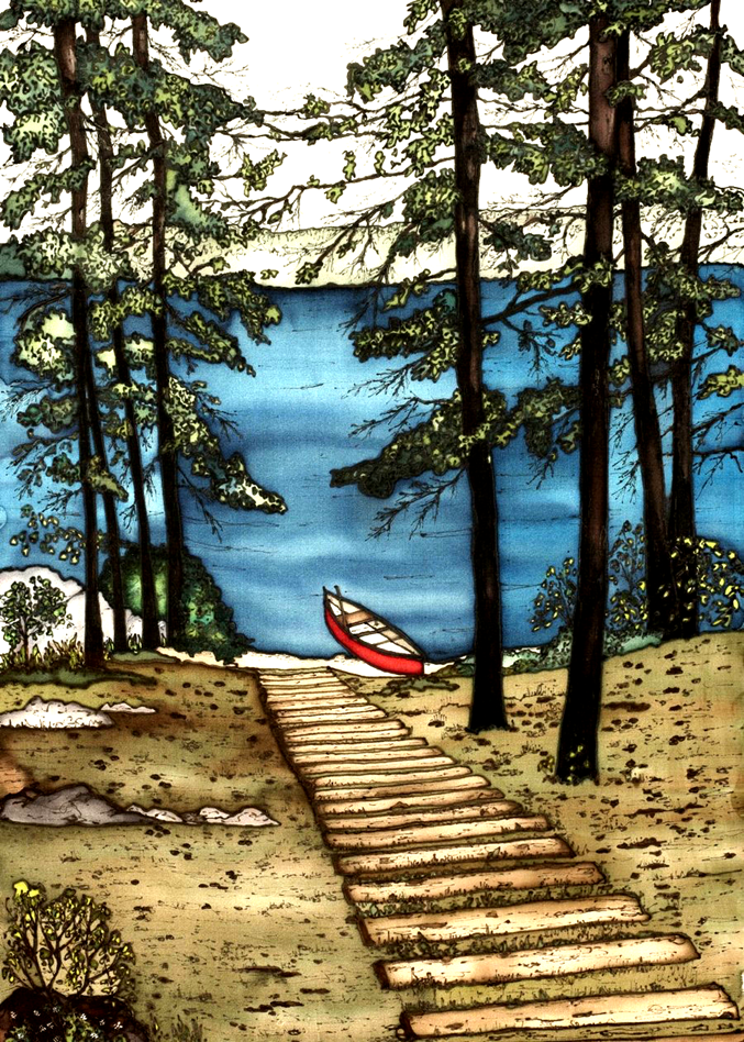 Muskoka Series - #165 - Canadian Art - Made In Canada Gifts