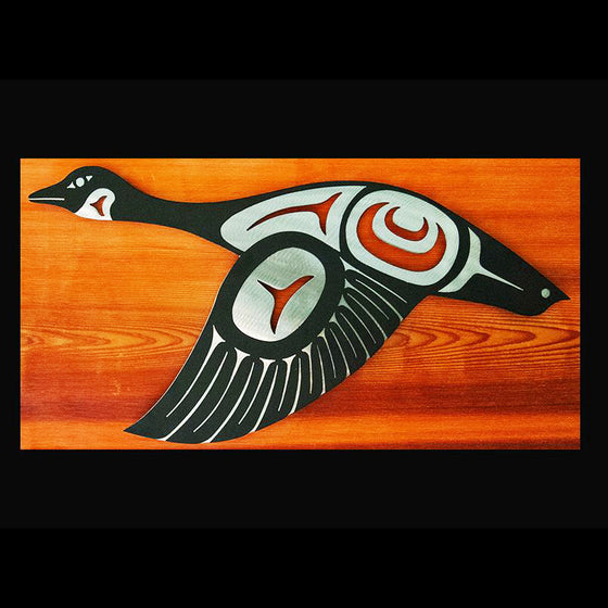 First Nations Goose - Wings Down