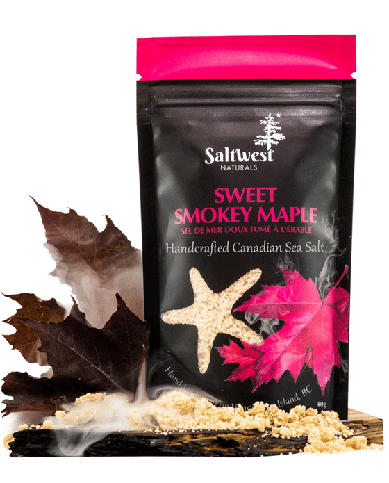 Sweet Smokey Maple Sea Salt