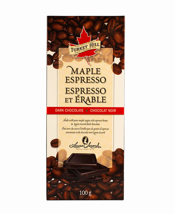 Maple Espresso Chocolate Bar