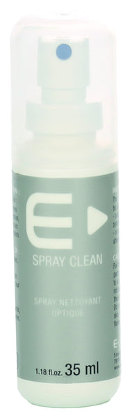 Optical cleaning spray