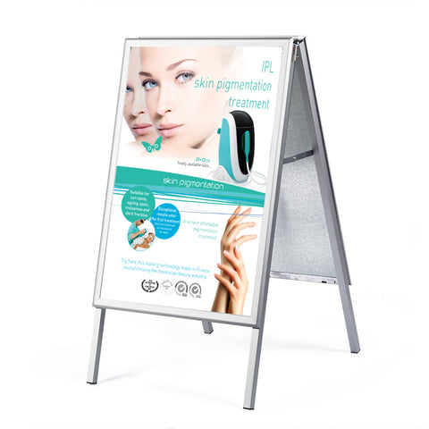 Indoor sandwich board double sided
