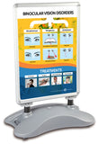 Outdoor sandwich board double sided