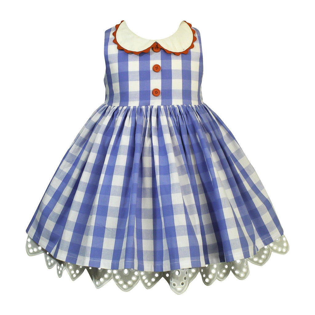 Pre-Order Vintage Alabama Gingham Dress - Little Miss Marmalade