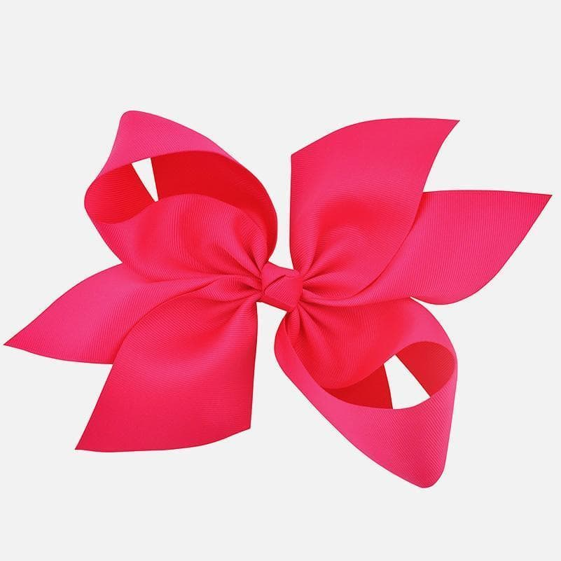"10"" Inch Magenta Hair Bow - Little Miss Marmalade"