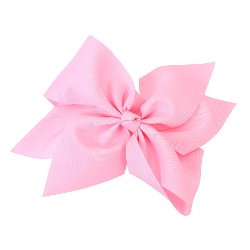 "10"" Light Pink Hair Bow - Little Miss Marmalade"