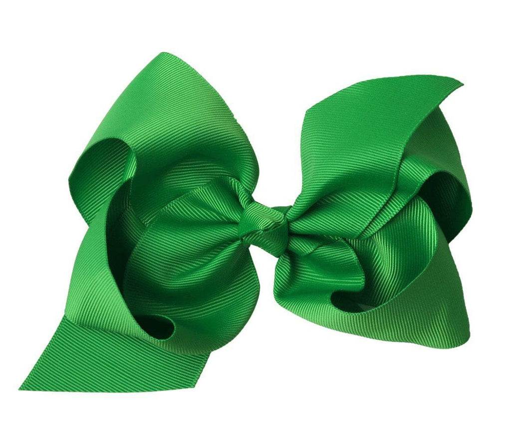 "Bright Green 6"" Bow - Little Miss Marmalade"