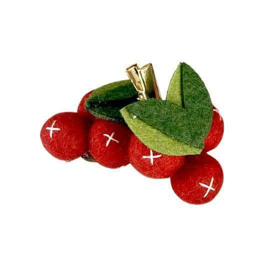 Cherry Hair Clips - Little Miss Marmalade