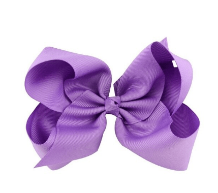 Lavendar Hair Bow - Little Miss Marmalade