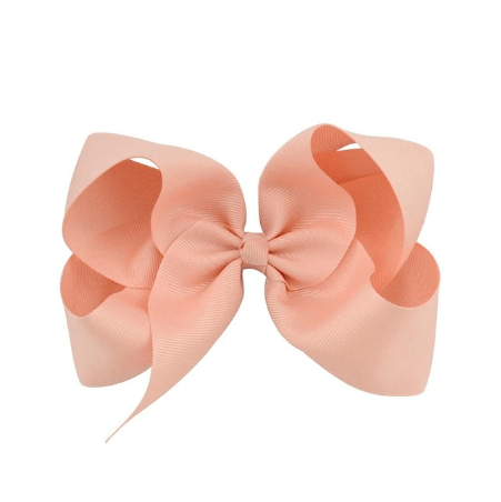 "Pink Blush 6"" Hair Bow - Little Miss Marmalade"