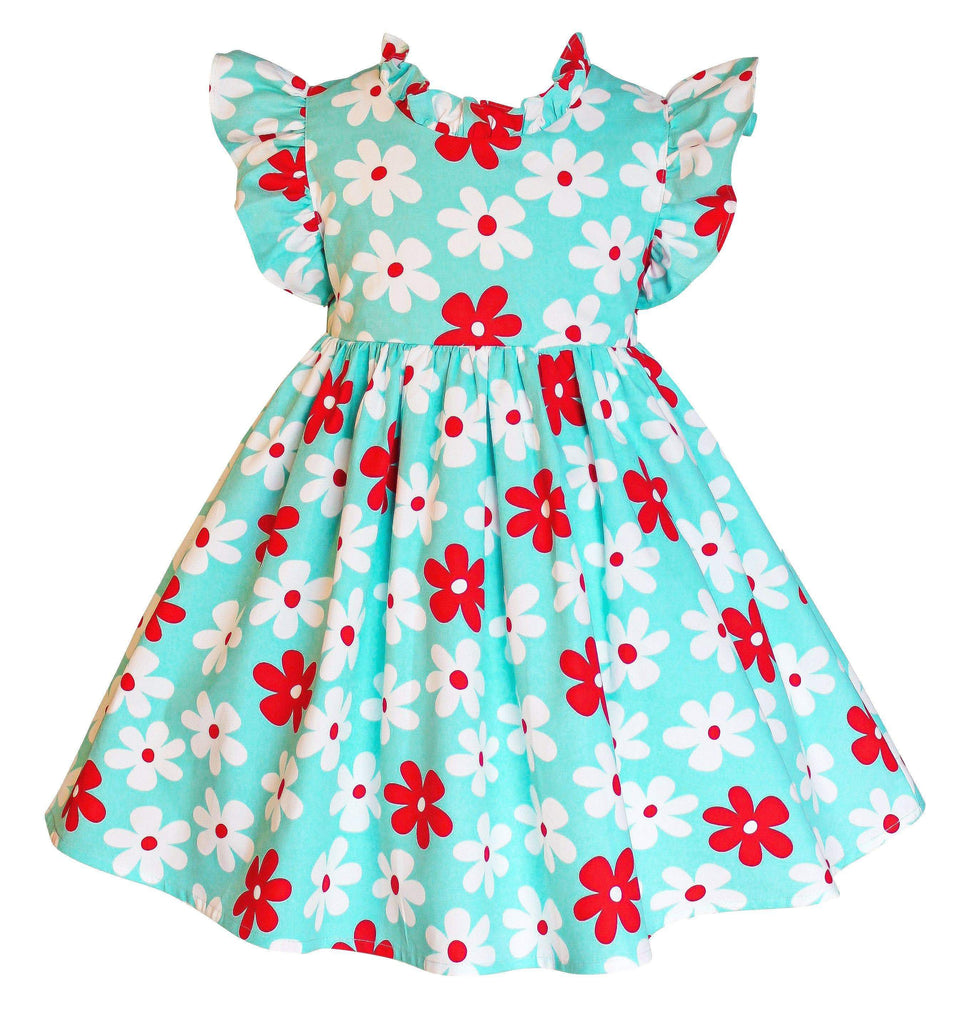 American Flowers Ashbury Dress - Little Miss Marmalade