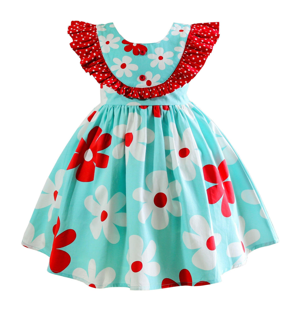 American Flowers Florence Dress - Little Miss Marmalade