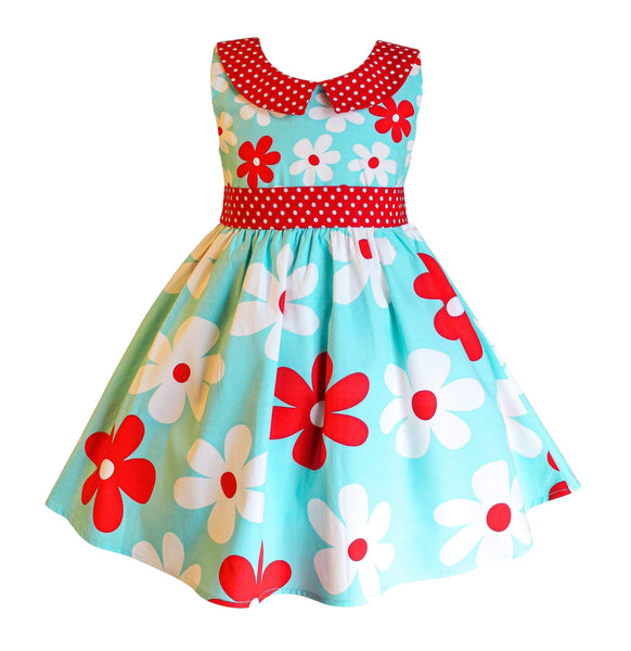American Flowers Hazel Dress - Little Miss Marmalade