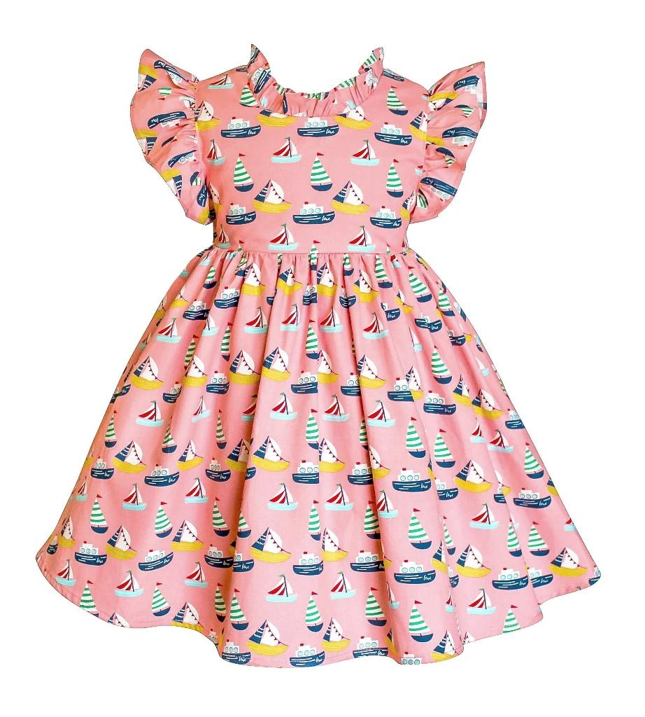Ashbury Retro Sailor Dress - Little Miss Marmalade