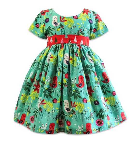 Be Merry BeeHive Girls Party Dress - Little Miss Marmalade